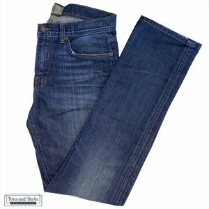 Bench Straight Fit Stretchy Mens Blue Jeans